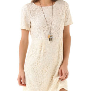 Madewell Broadway & Broome Birdcage Lace Dress S 4